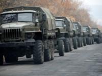 ОБСЕ зафиксировала у границы с РФ колонну техники