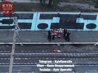 В Киеве девушка-самоубийца прыгнула под поезд