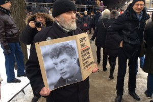 В России прошли марши памяти Бориса Немцова