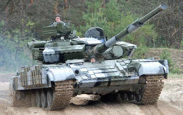 Танки предназначены для воинской части в Одесской области