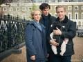 В сети появились фото со съемок 4 сезона Шерлока