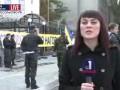 Под посольством РФ требуют отпустить задержанного на Марше мира бизнесмена