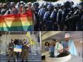 Неделя в фото: Бои за Марьинку, Кличко с таблетками и гей-парад в Киеве