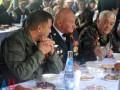 На Саур-Могиле Захарченко выпил водки c