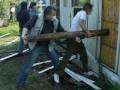 МВД: В киевском парке противники строительства церкви рушили забор