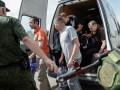 На Донбассе стало больше украинских заложников