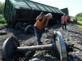 На Донбассе снова подорвали железнодорожные пути
