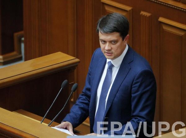 Разумков объяснил, почему Рада приняла закон авторства Порошенко
