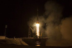 """35/36-я космическая экспедиция продлится около 168 суток. стартовал космический корабль  """"Союз TMA-08М """" с очередным..."""