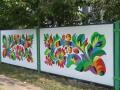 Уникальную украинскую роспись возрождают за 466 тыс грн - видео