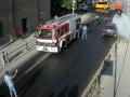 В Берегово загорелось авто с женщиной и ребенком
