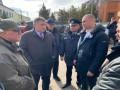 Аваков приехал успокаивать жителей Новых Санжар