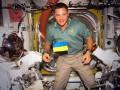 Американский астронавт на МКС почтил память погибших в Киеве