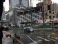 В Одессе из-за непогоды упал строительный кран