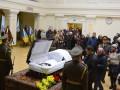 В Киеве простились с космонавтом Леонидом Каденюком