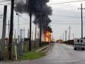 В Техасе возник пожар на заводе по производству газа