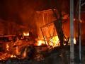 Горели дома и взрывались баллоны: в Одессе произошел масштабный пожар на набережной