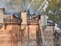 В Ереване произошел пожар на крыше парламента
