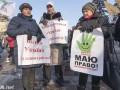 Протесты в Киеве длились всего пять с половиной часов