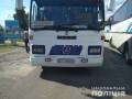 Под Харьковом полиция задержала шесть автобусов: проверяет цель визита