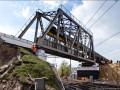 Как демонтировали Дарницкий мост в Киеве