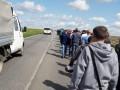 На Донбассе горняки прошли пешком 16 километров ради зарплаты