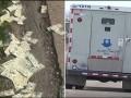 В США инкассаторы потеряли по дороге 600 тысяч долларов