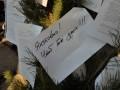 Ты предал свой народ: в Донецке чернобыльцы украсили елку оскорблениями в адрес Януковича