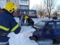 На Херсонщине из снега достали почти 40 автомобилей