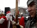 На Майдане Незалежности открылась резиденция Деда Мороза