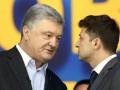 В Кремле сравнили Зеленского и Порошенко