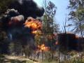 Пожар под Киевом: Экологи пугают формальдегидами и кислотными дождями