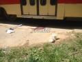 В Киеве мужчина попал под трамвай