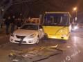 Пьяный водитель маршрутки в Одессе стал виновником ДТП