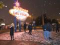 Лос-Анджелес и Лас-Вегас замело снегом