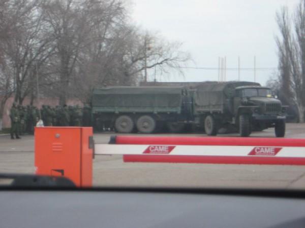 фиолент вторжение российский войск