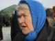 Пенсионерка в очереди за едой в Авдеевке пожаловалась на