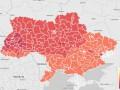 Как голосовали украинцы: интерактивная карта