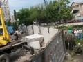 Из-за незаконной стройки на Жилянской завязалась драка (фото)