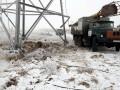 В Украине без света почти 100 населенных пунктов