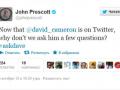 В первый же день присутствия в Twitter Девида Кэмерона начали троллить даже политические оппоненты