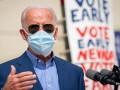 Байден досрочно отдал голос на всеобщих выборах в США