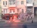 В центре Киева подрались ультрас Динамо и Аякса