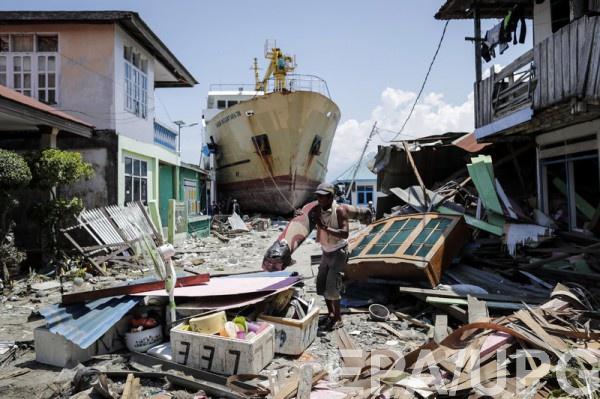 Более тысячи человек пострадали от стихии