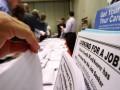 В США резко упало число просящих пособие по безработице