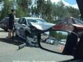 На трассе под Киевом столкнулись шесть авто