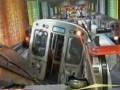 В Чикаго сошел с рельс поезд метрополитена