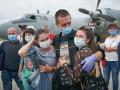В Украину после трех лет ливийской тюрьмы вернулись моряки