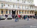 Под зданием полиции в Одессе требуют отставки ее руководства