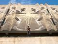 Художник из Нью-Йорка разрисовал здание КПИ в Киеве